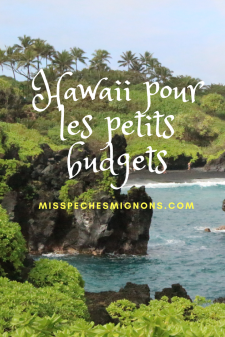 Hawaii pour les petits budgets